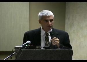 Mayor Scott Korthuis at the November 29, 2012 Ferndale EIS scoping hearing for GPT
