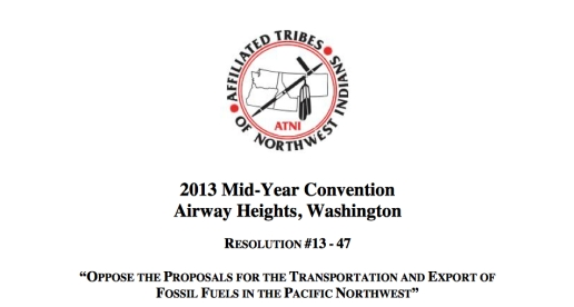 affiliated tribes resolution