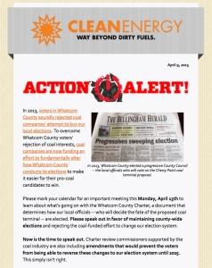 matt's action alert