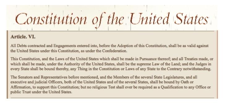 constitution article 6