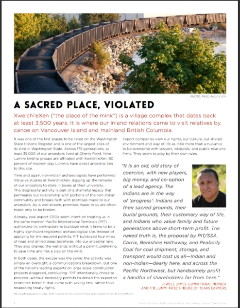 sacred place violated