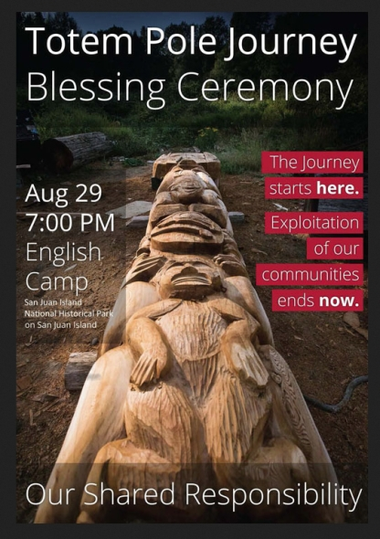 totem pole blessing
