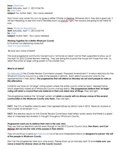 whatcom Republican april 11 flyer for april 13 charter meet