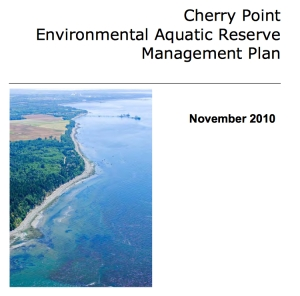 cherry point environmental aquatic plan