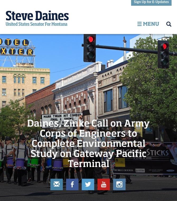 daines gateway on website