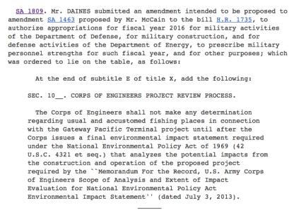 sa 1809 amendment gateway