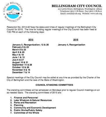 bham 2015 city council mtg schedule