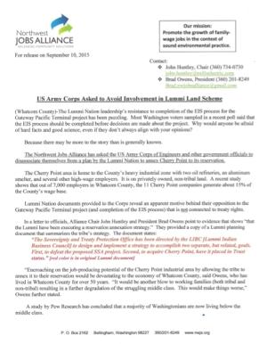 nwja press release