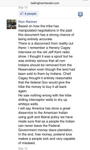 September 13, 2015 comment posted by Ron Reimer