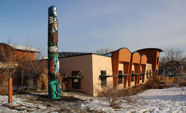 Totem Pole at northern plains